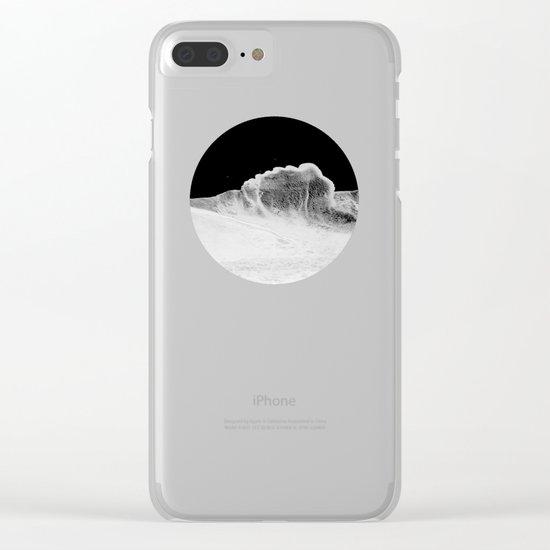 foam Clear iPhone Case