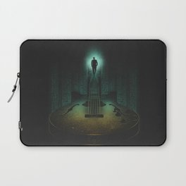 Music is the way Laptop Sleeve
