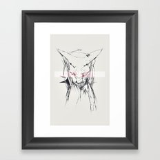 sphynx Framed Art Print