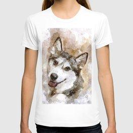Tika'ani our Siberian Husky T-shirt