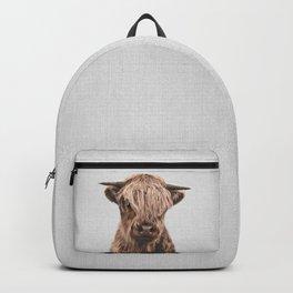 Highland Calf - Colorful Backpack