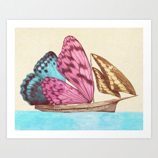 The Voyage (option) Art Print