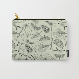 Green forest treasures. Carry-All Pouch