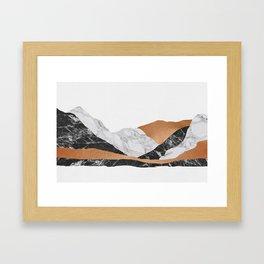 Marble Landscape I, Minimal Art Framed Art Print