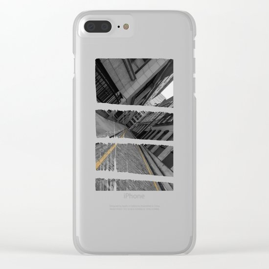 Mile End Clear iPhone Case