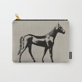 Old Wooden Horse Carry-All Pouch