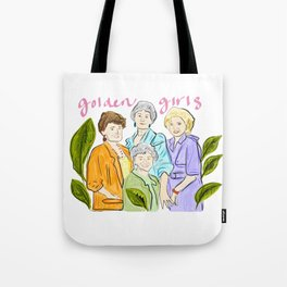 Golden Gals Tote Bag