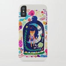 Little fox in Secret place iPhone X Slim Case