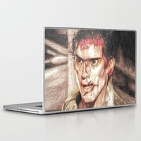 evil dead Laptop & iPad Skins featuring Ash from Evil Dead II (2) by Aaron Bir by Aaron Bir