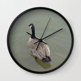 Swimming Away Wall Clock