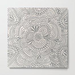 Organic Pattern Metal Print