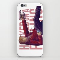starlord iPhone & iPod Skins featuring Hooked On a Feeling by Unbearable Bear