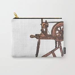 The Spinning Wheel Carry-All Pouch