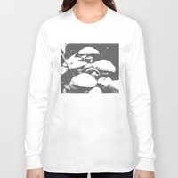 mushroom Long Sleeve T-shirts featuring Mushroom by Nick Strother