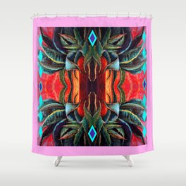 Southwest Metamorphosis abstract Shower Curtain