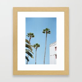 CATALAN WINE MIXER Framed Art Print