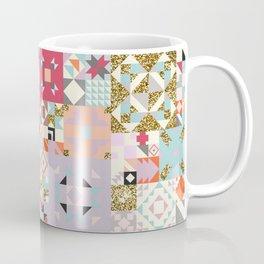Moroccan Quilt Pattern Coffee Mug