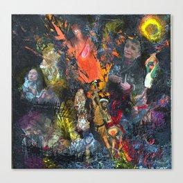 Expulsion Canvas Print