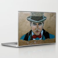boardwalk empire Laptop & iPad Skins featuring Arnold Rothstein (Boardwalk Empire) by Bina Leo Dwyer