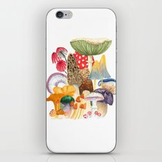 Woodland Mushroom Society iPhone & iPod Skin