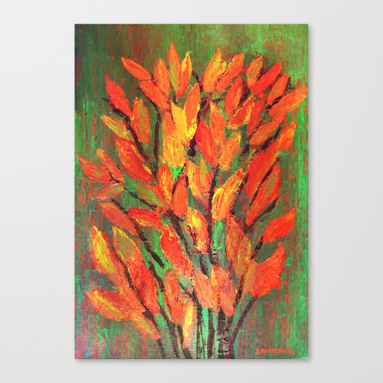 Autumn Leaves 3 Canvas Print