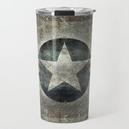 US Air force style insignia V2 Travel Mug