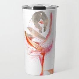 Expressive Dance Drawing Travel Mug