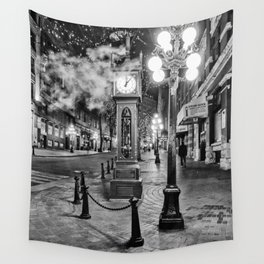 Steamy Nights Wall Tapestry