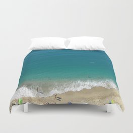 Italian Beach 1 Duvet Cover