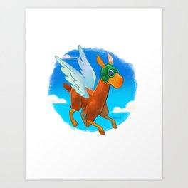 frequent flyer Art Print