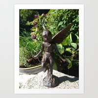 Fairy in the Garden Art Print