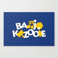 Banjo-Kazooie - Blue Canvas Print