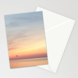 Sunset Lake Stationery Cards