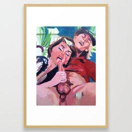 entitled Framed Art Print