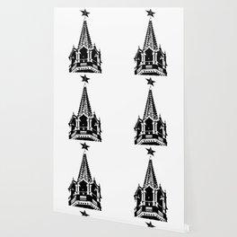 Kremlin Chimes-b&w Wallpaper