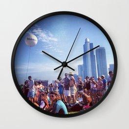 Music Festival Wall Clock