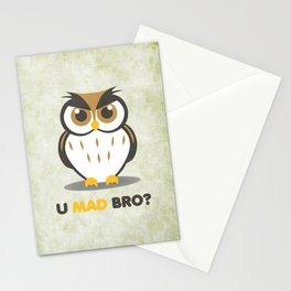 U Mad Bro Stationery Cards