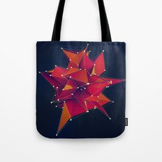 Architecture Polygons Tote Bag