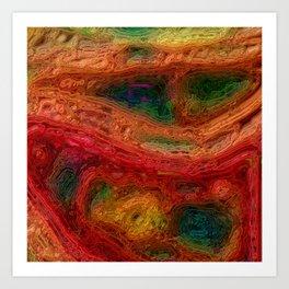 Crinkle II Art Print