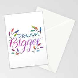 Dream Bigger Stationery Cards