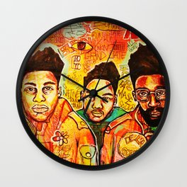 2013 da inner soul yall #delasoul Wall Clock