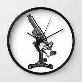 Microscope Wall Clock