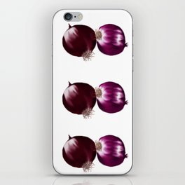 Red Onion iPhone Skin