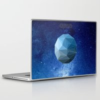 physics Laptop & iPad Skins featuring Continuum Space by yuvalaltman