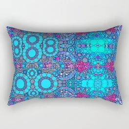 Turquoise jewels  Rectangular Pillow