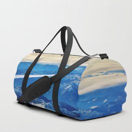 Airplane above the Clouds I Duffle Bag
