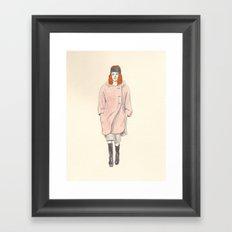 runway Framed Art Print