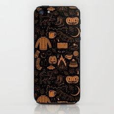 Autumn Nights: Halloween iPhone Skin