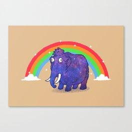 Magical Mammoth Canvas Print