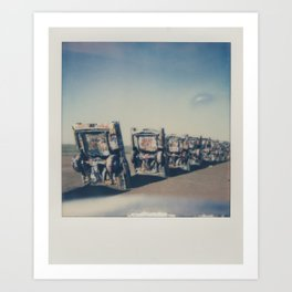 Cadillac Ranch - Route 66 Art Print